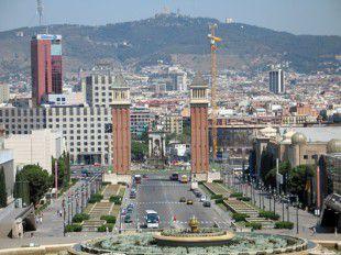 Барселона шоппинг центр