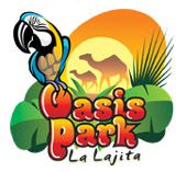 Логотип оазис парка
