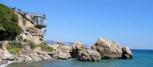 Испания курорт Нерха Балкон Европы Коста дель Соль
