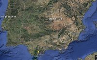 Испания рельеф Испании