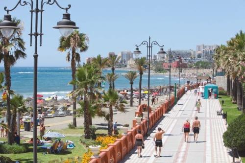 Пляжный отдых в Малаге