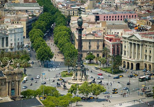 Тур по Испании Малага Барселона