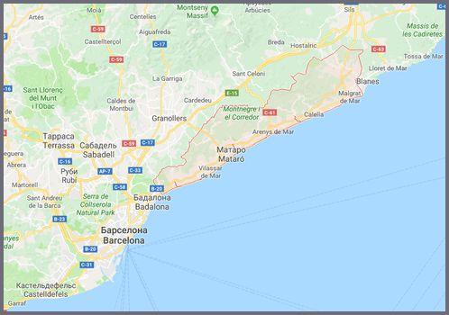 Туры в Испанию на Коста дель Маресме