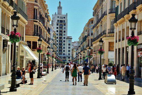 Малага улица Лариос