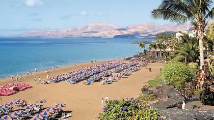 Туры в Испанию на Лансароте Пуэрто дель Кармен