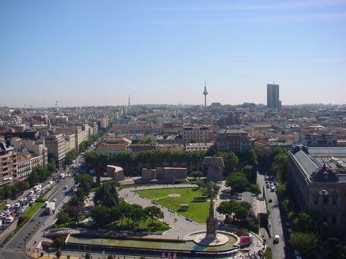 Площадь Колумба Мадрид