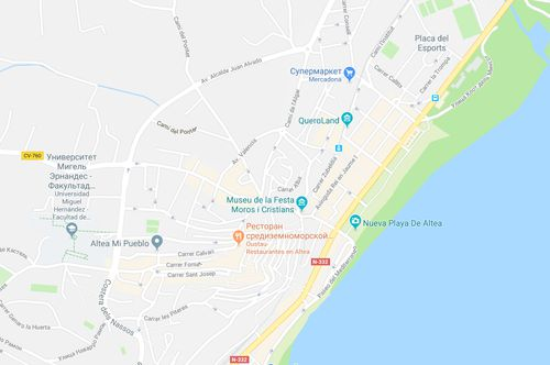 Туры в Испанию на Коста Бланка Альтеа