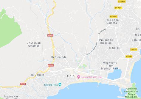 Туры в Испанию на Коста Бланка Кальпе