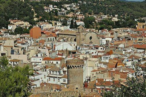 Тур в Испанию Тосса де Мар